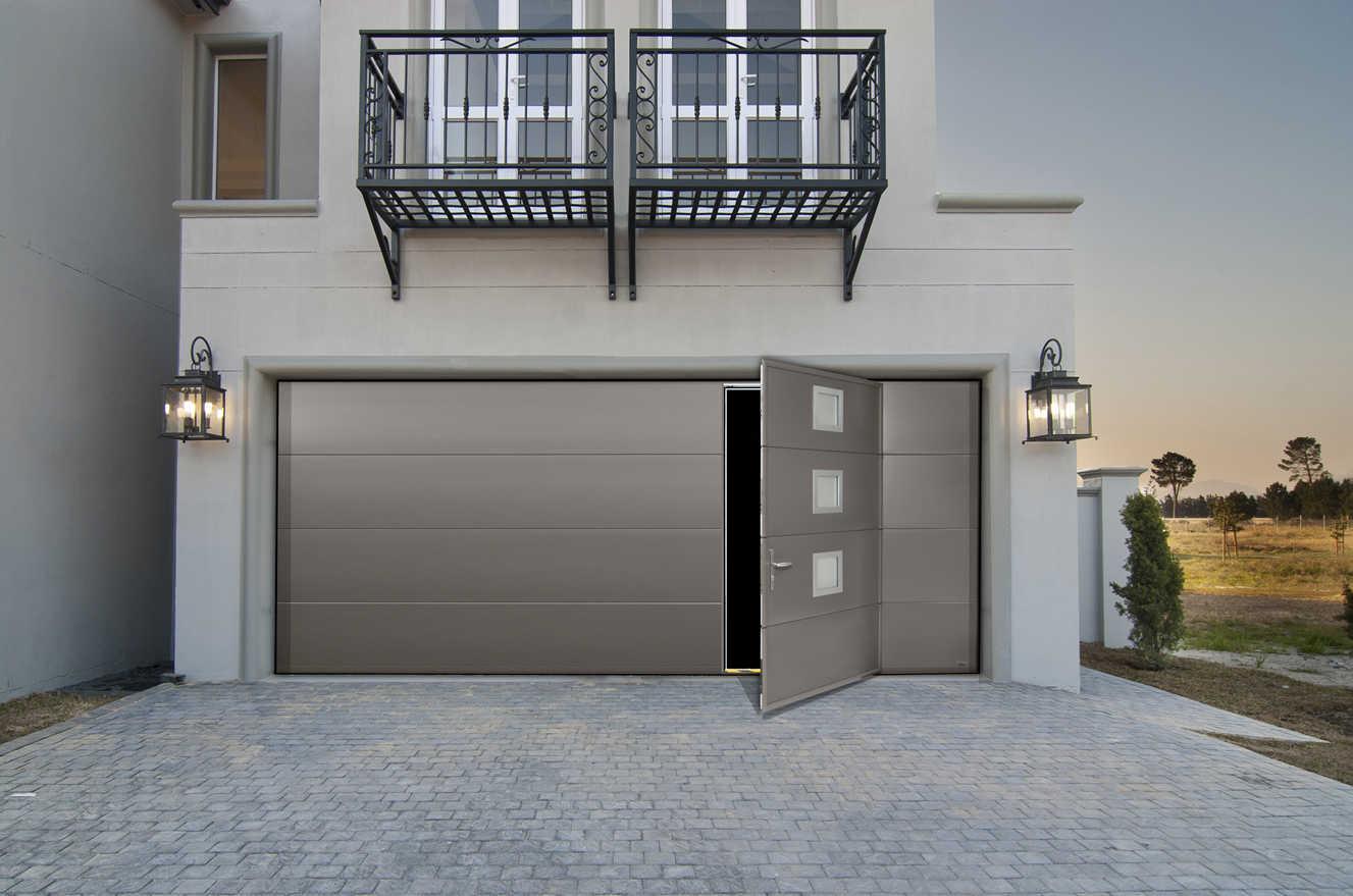 Carte porte de garage top serrure barillet poignee pour for Motoriser une porte de garage