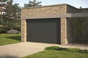 Portes de garage en pvc bois aluminium ou acier france fermetures - Porte sequentielle garage ...